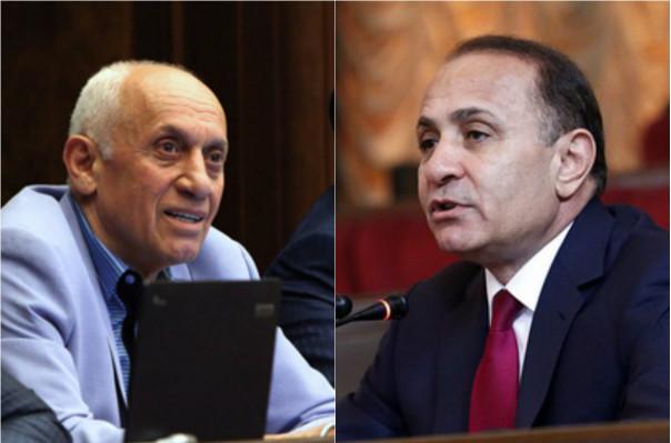 Հովիկ Աբրահամյանի հրաժարականի դիմումը հասել է ՀՀԿ գրասենյակ, Մհեր Սեդրակյանինը՝ոչ