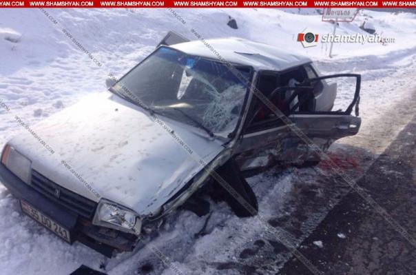 ՃՏՊ Գեղարքունիքի մարզում. հիվանդանոց տեղափոխված 5 անձանցից 17-ամյա աղջիկը մահացել է