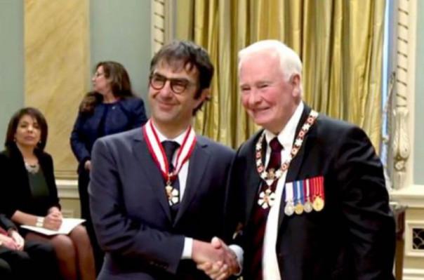 Атому Эгояну присвоен высший титул Национального Ордена Канады