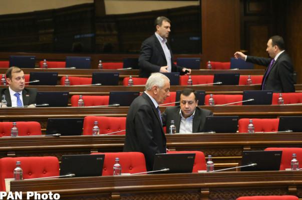Четырехдневные заседания НС Армении не состоялись из-за отсутствия кворума