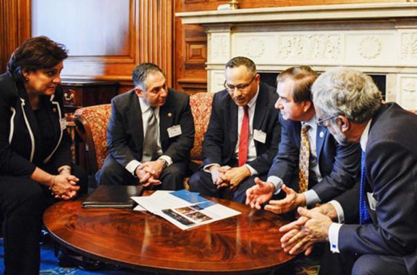 ԱՄՆ Հայ դատի հանձնախումբը կոնգրեսականների հետ քննարկել է հայ-ամերիկյան հարաբերությունները