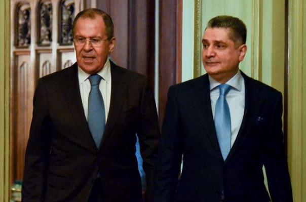Лавров и Саркисян обсудили углубление отношений ЕАЭС с третьими странами