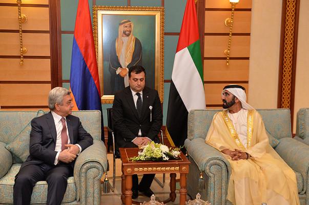 Президент Армении принял участие вармяно-эмиратском инвестиционном форуме