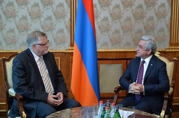 Армения этими выборами сделала серьёзный шаг вперед - Специальный представитель ЕС на встрече с президентом Армении