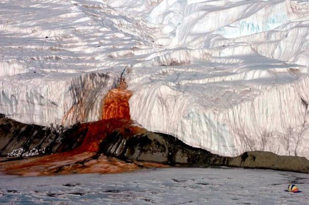 Ученые объяснили Кровавый водопад в Антарктиде