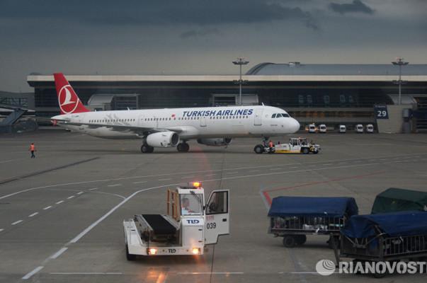 Самолет Turkish Airlines вернулся во Внуково из за Росбалт