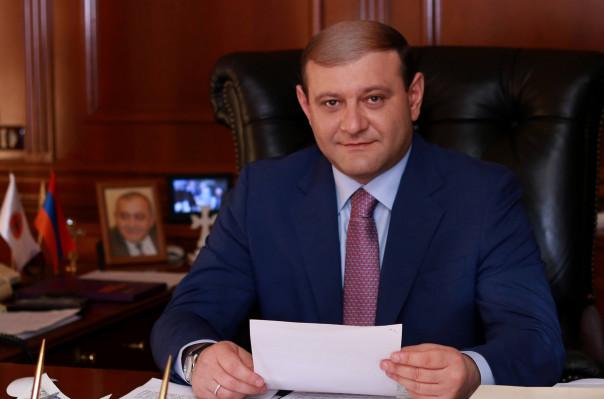 Поздравительное послание мэра Еревана Тарона Маргаряна по случаю Дня радио