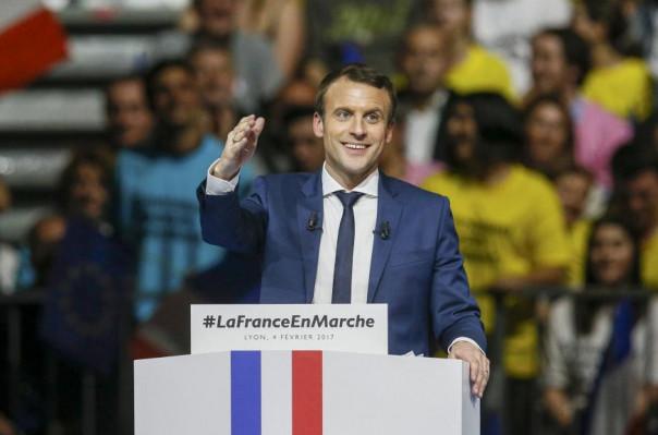 Эммануэль Макрон избран новым президентом Франции