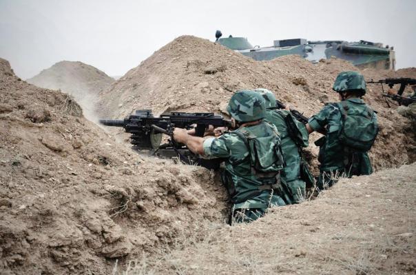Минувшей ночью ВС Азербайджана применили на линии соприкосновения 60-мм миномет и АГС