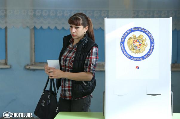 Завершилось голосование навыборах вСовет старейшин вЕреване
