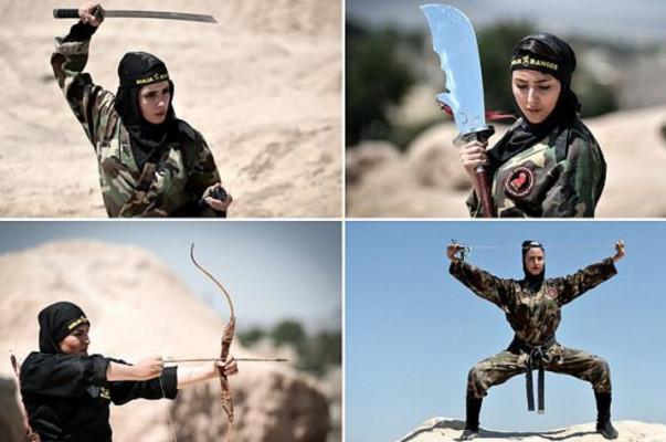 Իրանի կին նինձաները՝ The Daily Mail-ի ֆոտոշարքում (լուսանկարներ)