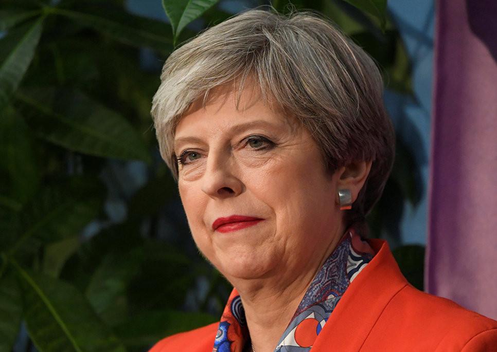 тереза мэй переизбралась парламент британии