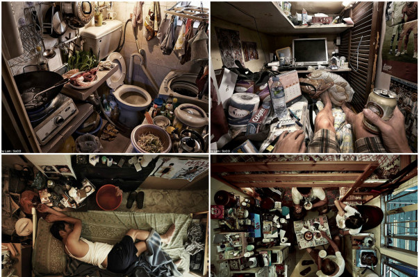 Shocking Pictures Of Hong Kong Coffin Homes Show Chopping Boards Feet Away From Toilets In Cramped Apartments Armenian News Tert Am