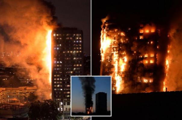Լոնդոնում խոշոր հրդեհի հետևանքով տասնյակ զոհեր կան. The Daily Mail (լուսանկարներ, տեսանյութ)