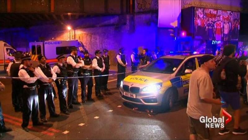 Мэй назвала происшествие с фургоном в Лондоне потенциальным терактом