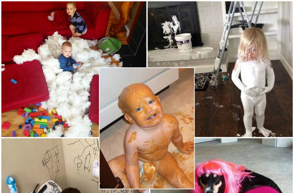 Ահա թե ինչու երեխաներին չի կարելի տանը միայնակ թողնել (լուսանկարներ)