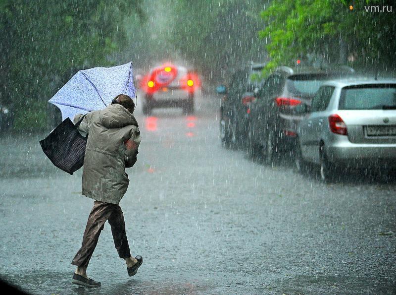 Желтый уровень погодной опасности объявлен в Москве 16 июля