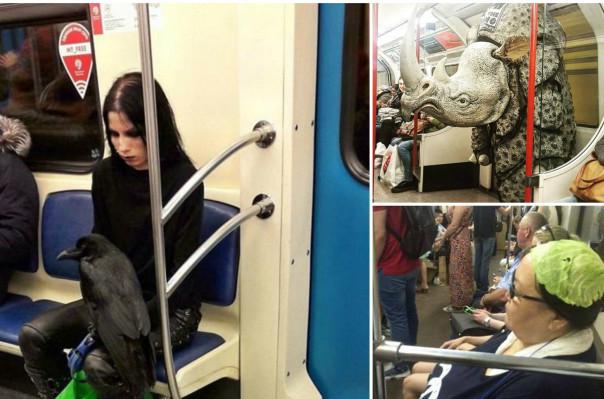 Մետրոների և գնացքների ամենատարօրինակ ուղևորները՝ The Daily Mail-ի ֆոտոշարքում (լուսանկարներ)