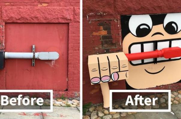 Ամերիկացի փողոցային նկարիչը կերպարանափոխել է Նյու Յորքի փողոցները (լուսանկարներ)