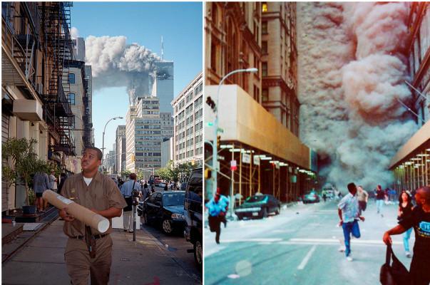 Հազվագյուտ լուսանկարներ՝ արված 2001-ի սեպտեմբերի 11-ի ահաբեկչության ժամանակ (լուսանկարներ)
