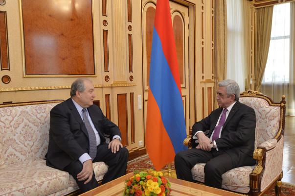 Серж Саргсян предложил кандидатуру напост президента Армении