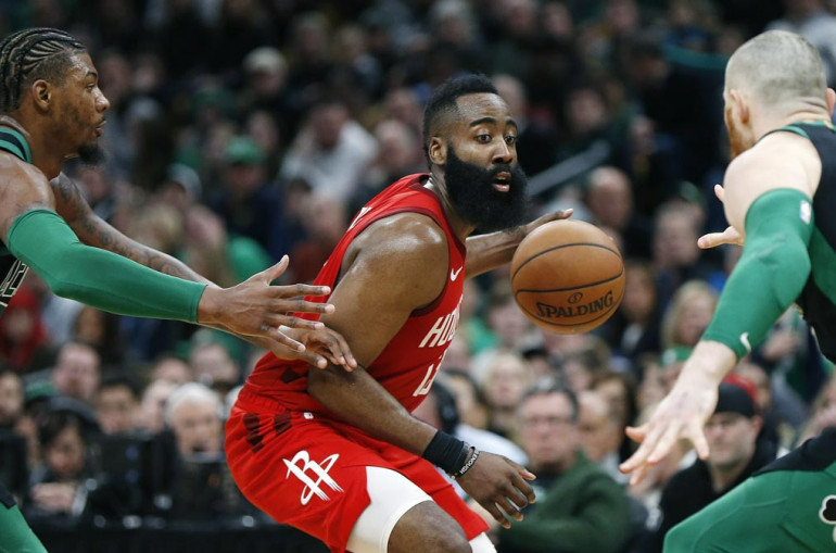 ee8777be77a0 Sports. James Harden scored 42 points before fouling out as the visiting Houston  Rockets extended their winning streak to five games ...